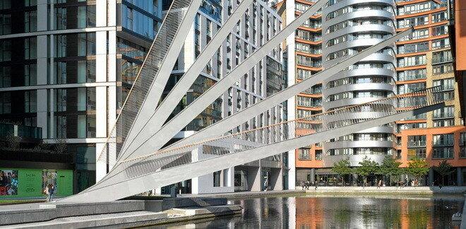 Мост-веер. Лондон