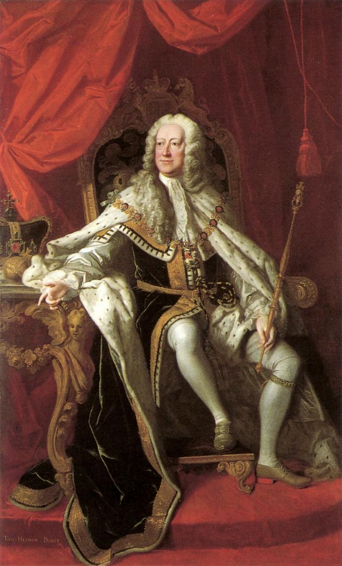 Георг II Томас Hudson