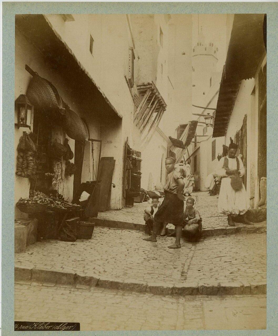 1875. Сцена из жизни людей в Клебере
