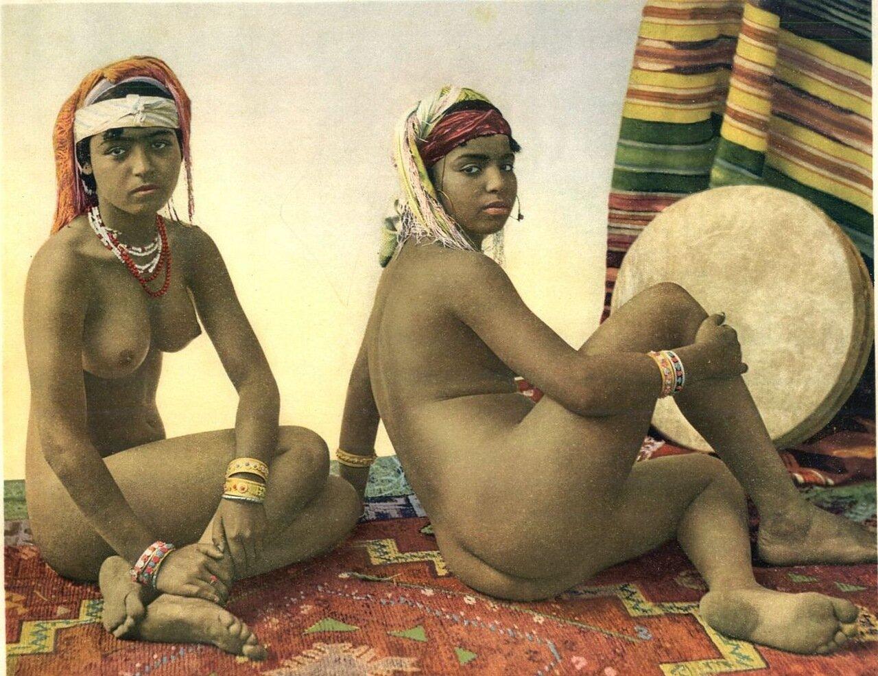 1900-е.  Женщины южного Алжира