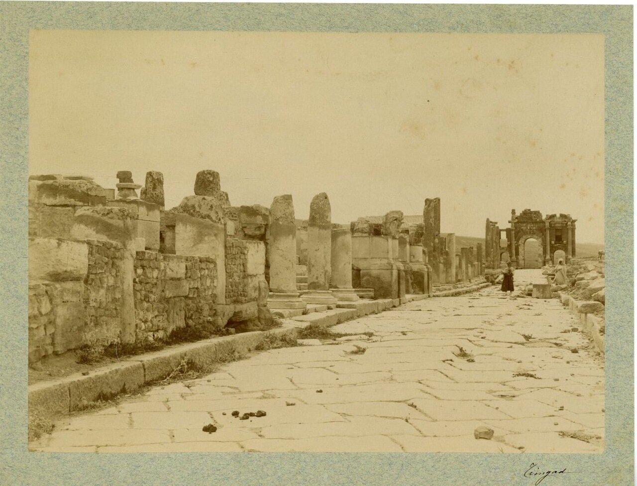 Тимгад. Римские руины