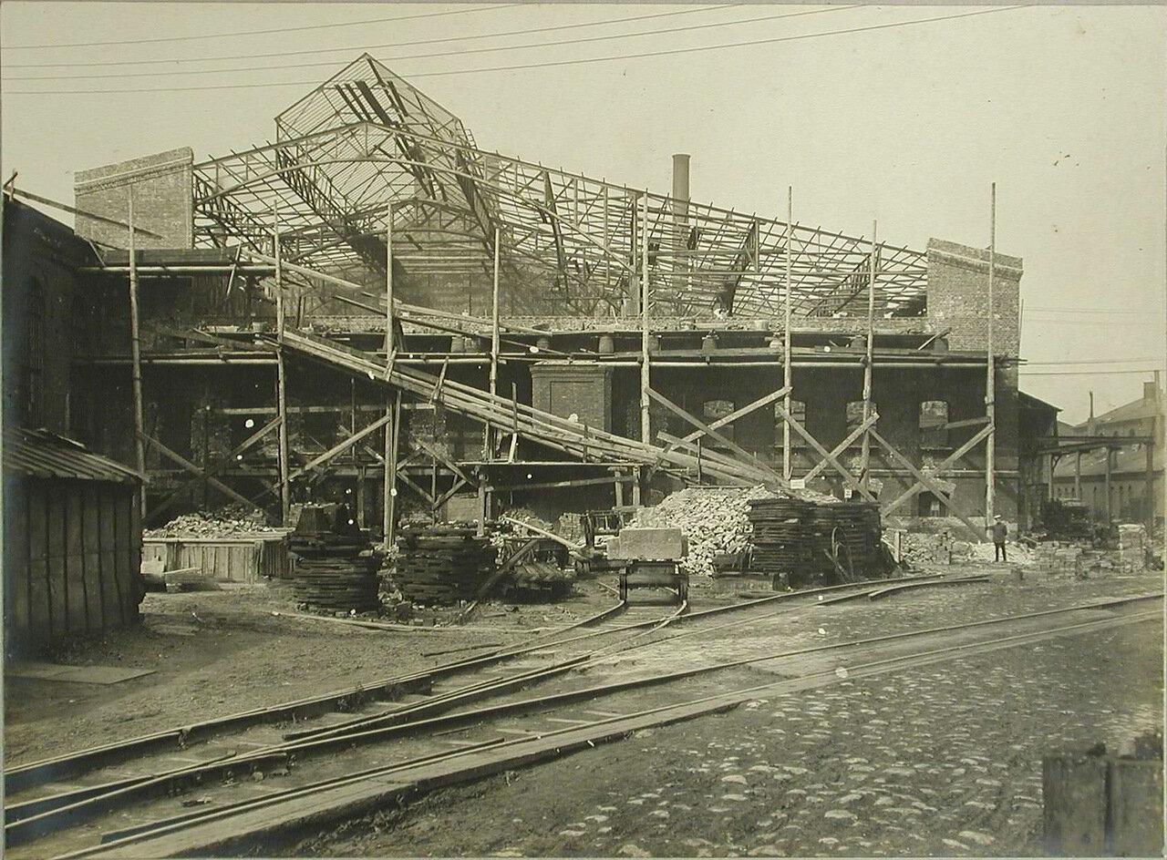 06. Общий вид одного из строящихся заводских цехов.19 августа 1909