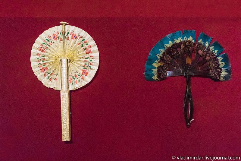 Веер-кокарда «BONBONS». Франция. Начало XX века. Детский веер. Франция. 1920-е годы.