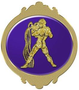 Водолей - знак зодиака, рисунок, вариант № 2, Апарышев.