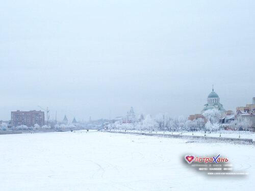 Астрахань в снегу (2008)