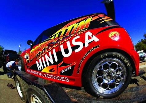 Mini Dragster команды Fireball Tim Racing