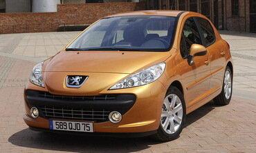 Продажи Peugeot Citroen в 2007 году выросли на 3,8%