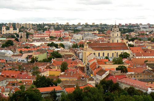 Крыши старого Вильнюса
