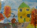 "Жданов Кирилл (рук. Губайдуллина Надежда Робертовна) - ""Осень в городе"""