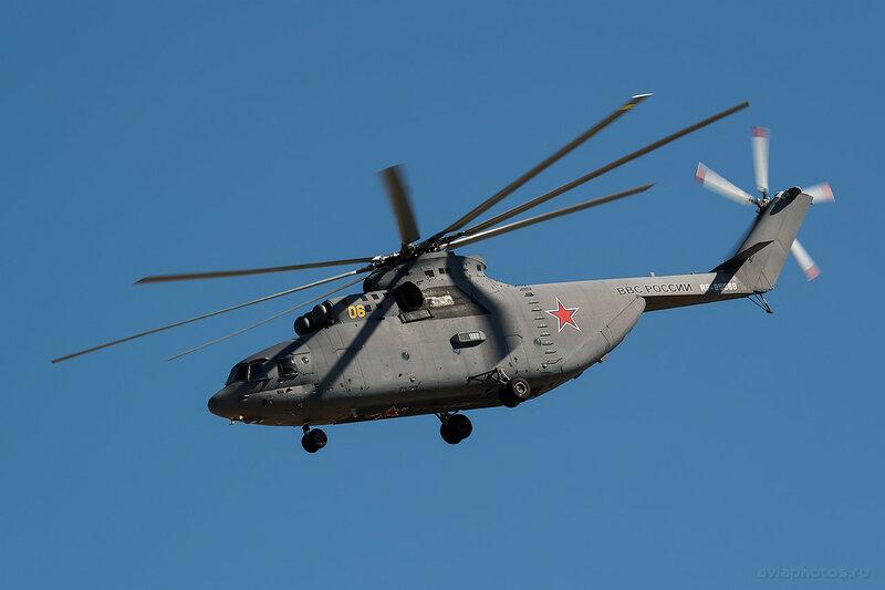 Миль Ми-26 (RF-95568 / 06 желтый) ВКС России 0670_D806509