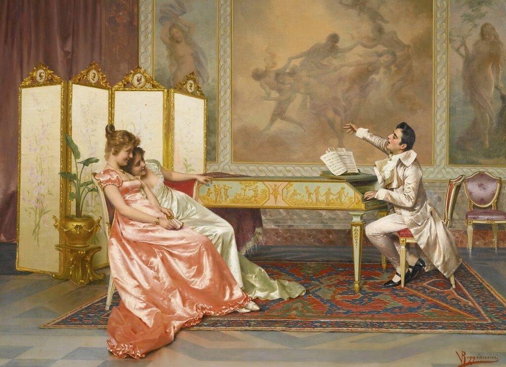 Концерт (The Recital)_55 х 75_х.,м._Частное собрание.jpg
