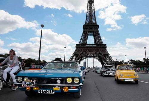 В Париже в защиту экологии запретили автомобили, старше 20 лет