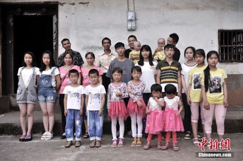 Китайская деревня, в которой 39 пар близнецов