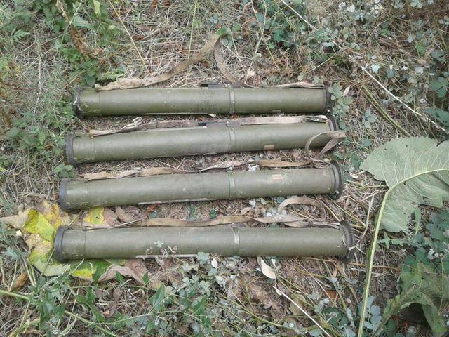 Два тайника с оружием выявлены в районе проведения АТО, - СБУ. ФОТОрепортаж