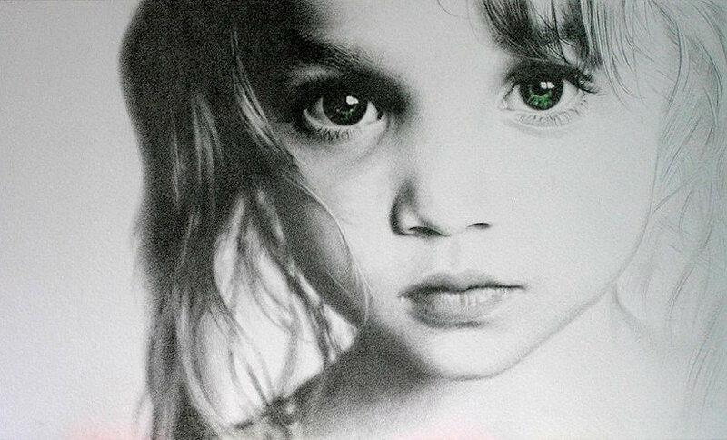 Карандашные портреты. Испанский художник Marcos Rey
