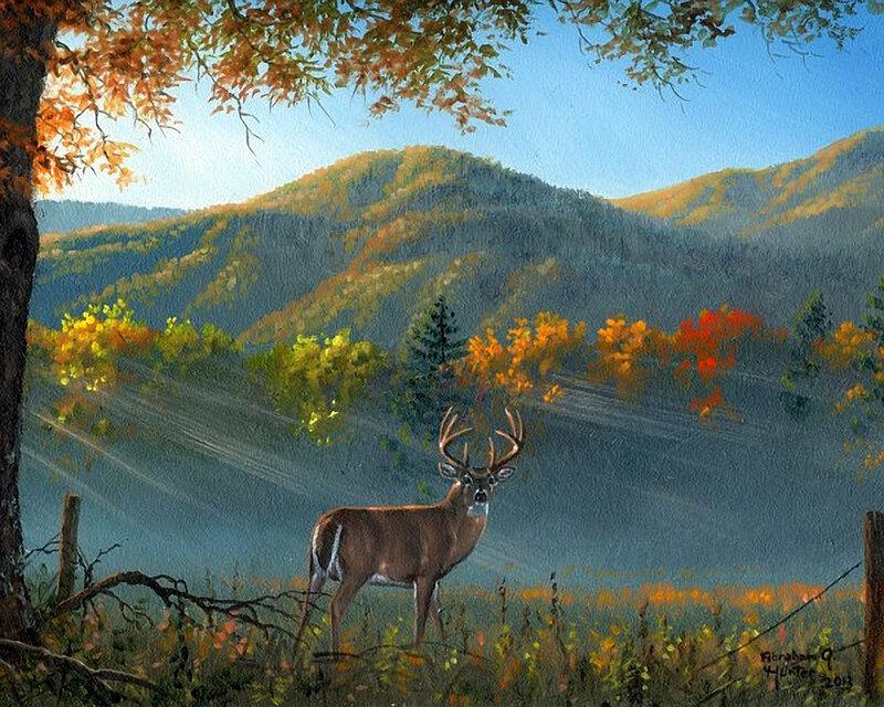 Зверюшки осенью готовят еду на зиму и жильё! Abraham Hunter