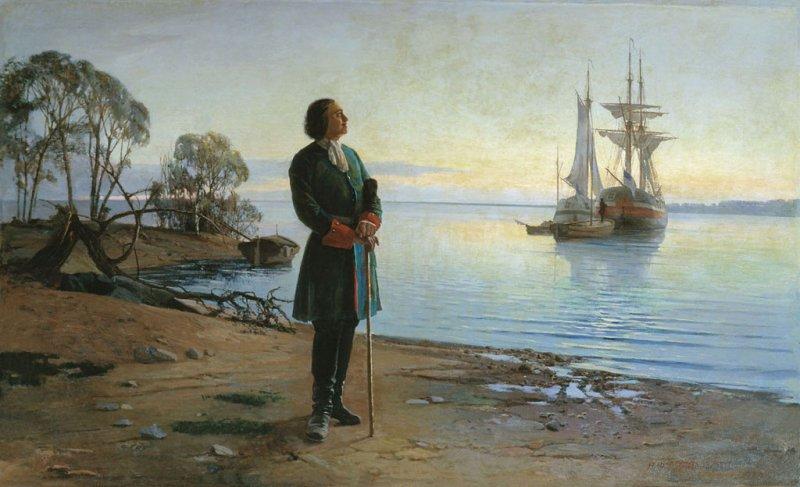 Основатель российского флота - Петр 1