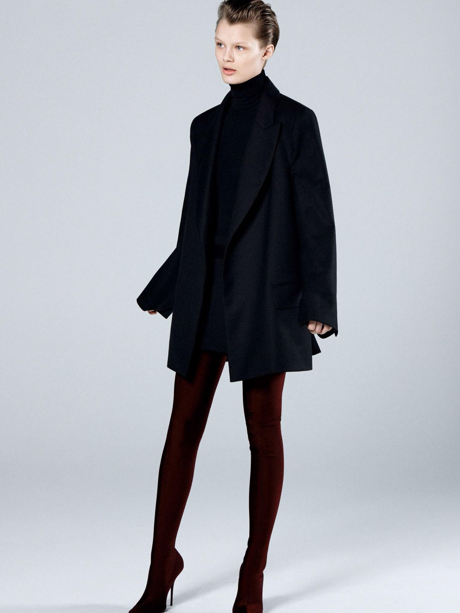 Кристина Грикайте в фотосъёмке Дэниела Джексона для китайского Vogue, май 2017 10