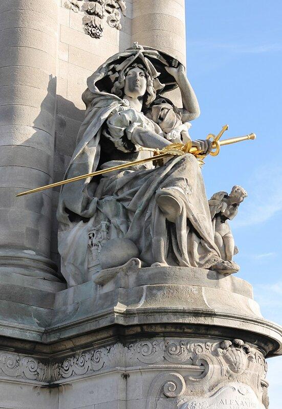 Мост Александра III, Париж