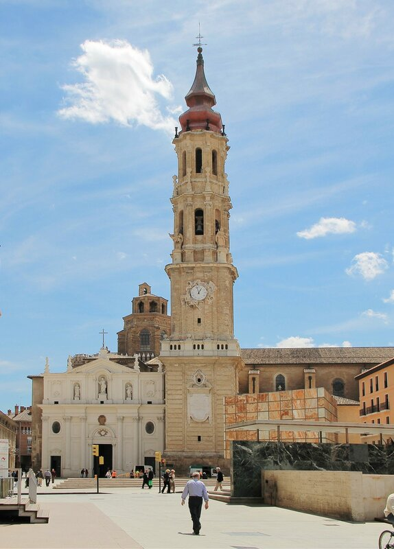 Сарагоса. Кафедральный собор Спасителя (Catedral del Salvador)