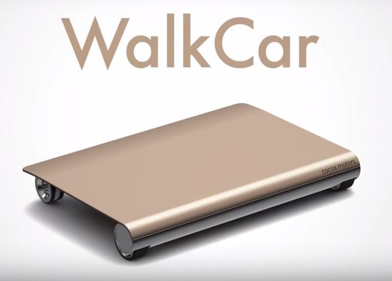 2. Доска WalkCar WalkCar весит всего три килограмма. Эта особенность позволяет переносить устройство