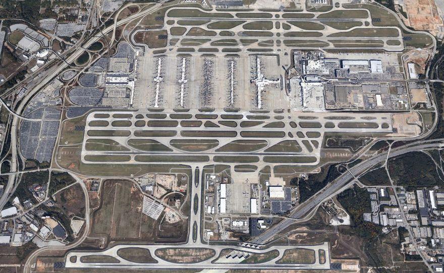 19. Самый многолюдный аэропорт – Хартсфилд Джексон, Атланта В год через этот аэропорт проходит более