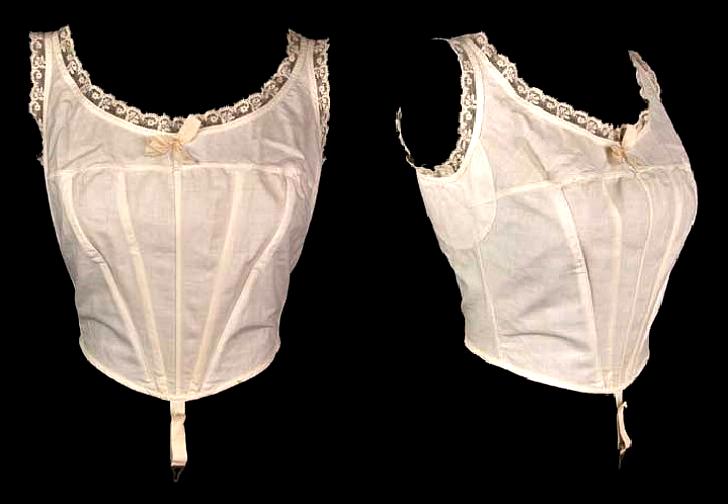 Мода на такие лифы продержалась больше 10 лет: с начала 1900-х до середины 1910-х.