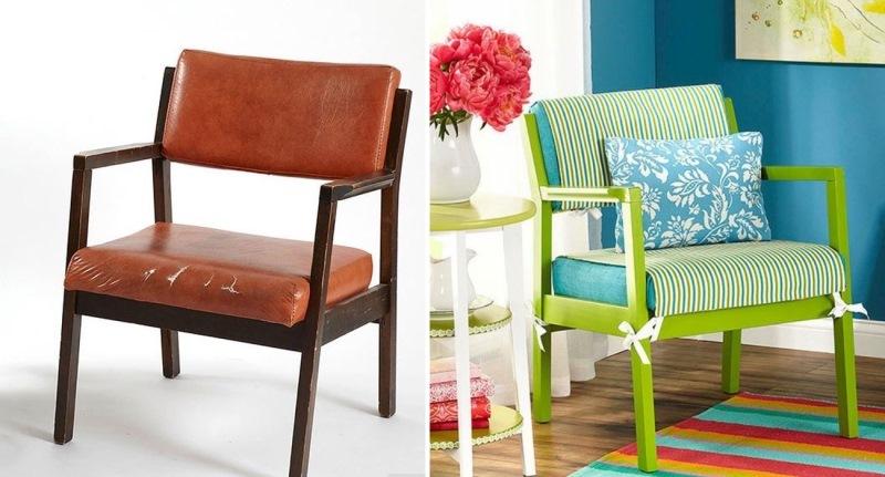 Как бы ужасно не выглядела старая мебель, в нее можно вдохнуть новую жизнь!