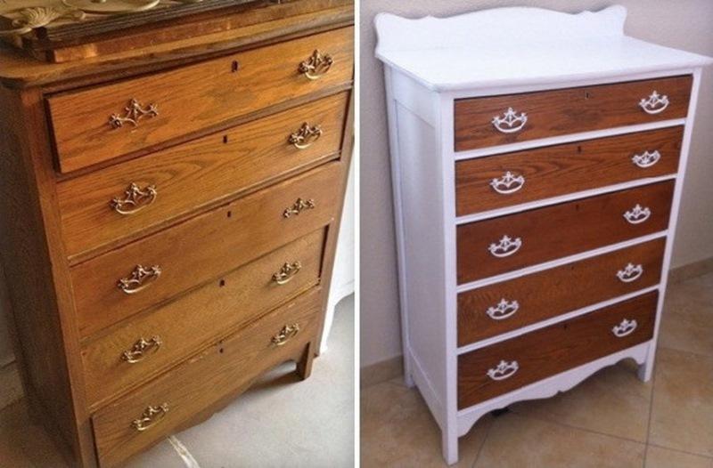 Вторая жизнь старой мебели. 15 бесценных идей для дома!