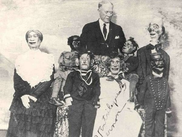 Говорящие монстры: 15 ужасающих кукол чревовещателей начала ХХ века.