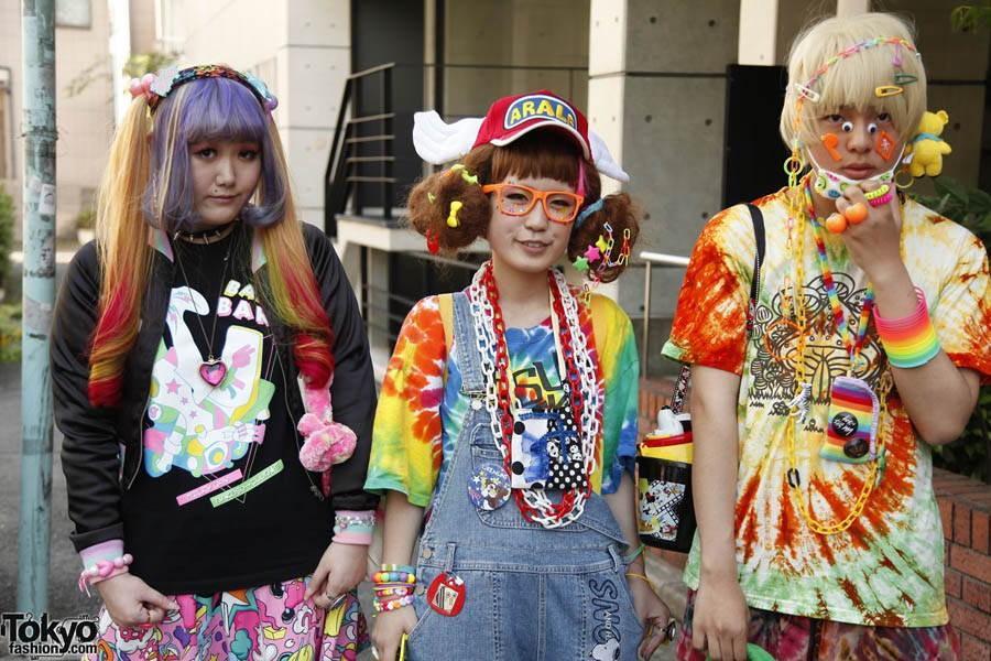 8. Хотя Харадзюку — это вечный пункт назначения всего авангардного, местные стили и тренды меняются