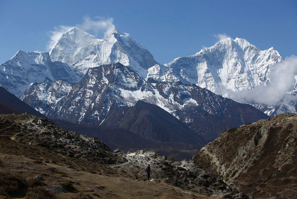 31. Гора Тамсерку. (Фото Navesh Chitrakar | Reuters):
