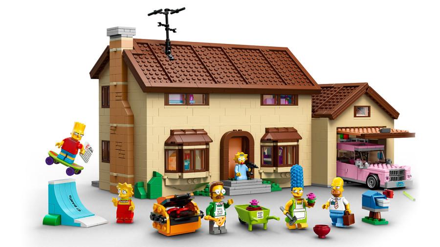 10. Симпсоны В преддверие 25-летия этого любимого многими мультсериала был выпущен дом Симпсонов с ф