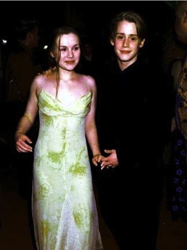 1999 год. С бывшей женой Рэйчел Майнер. Они были женаты 2 года и разошлись в 2000 году.