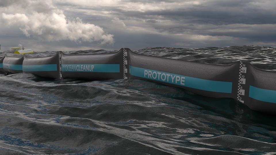 Пять лет исследований ушло у голландского предпринимателя Бояна Слата на создание плавучего устройст