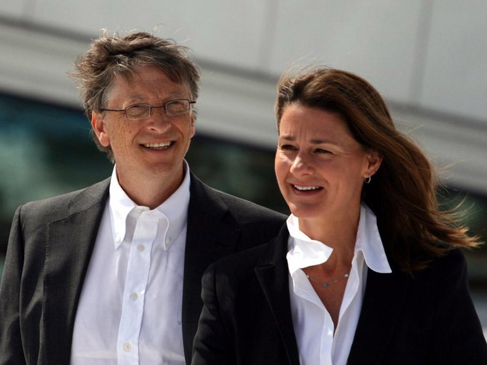 1. Благотворительность — 56,3%. Билл и Мелинда Гейтс известны своим увлечением благотворительностью,