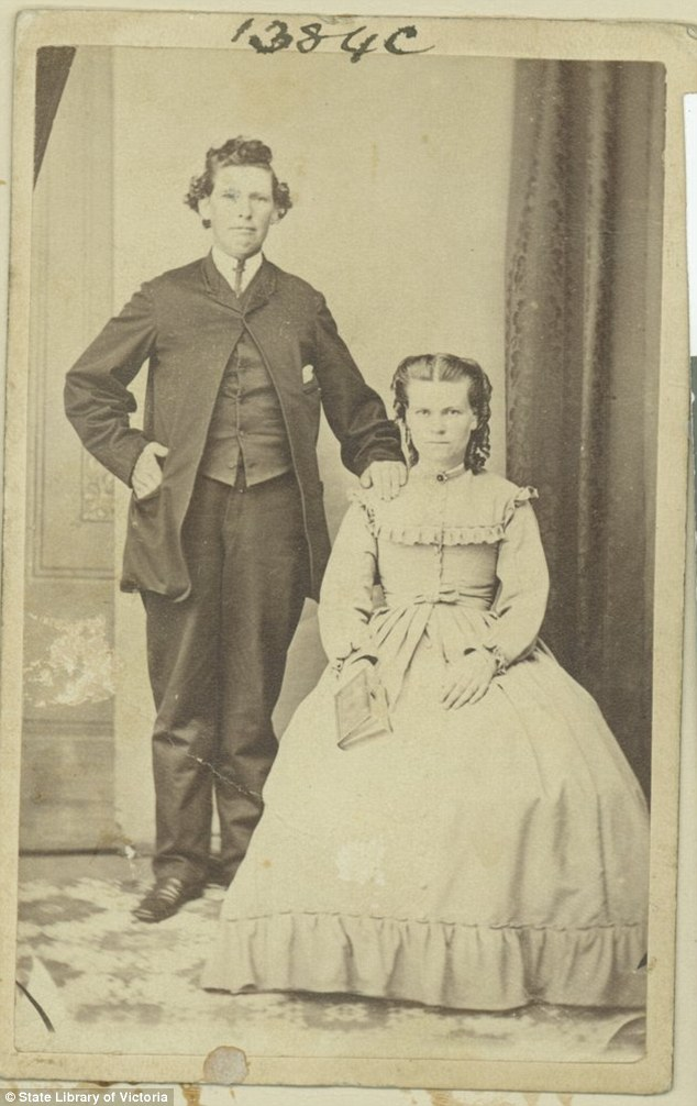 Согласно записям, которые хранятся в государственной библиотеке штата Виктория, Эвансазвали Эллен Т