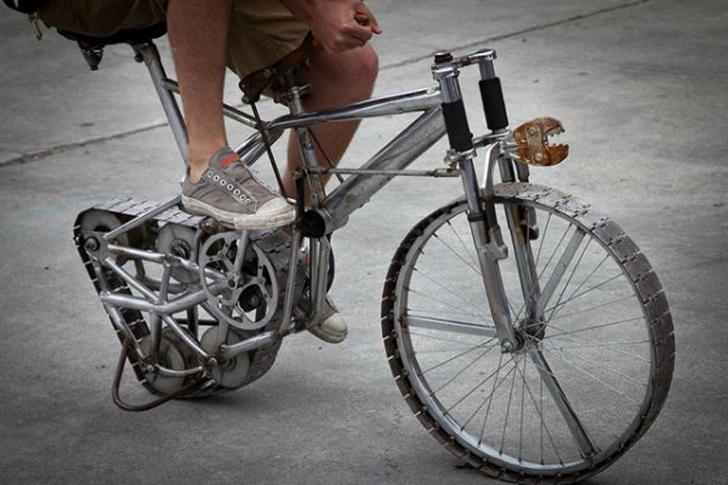 Если вы считаете, что шины — для слабаков, не вычеркивайте себя из списка любителей велоспорта. Как