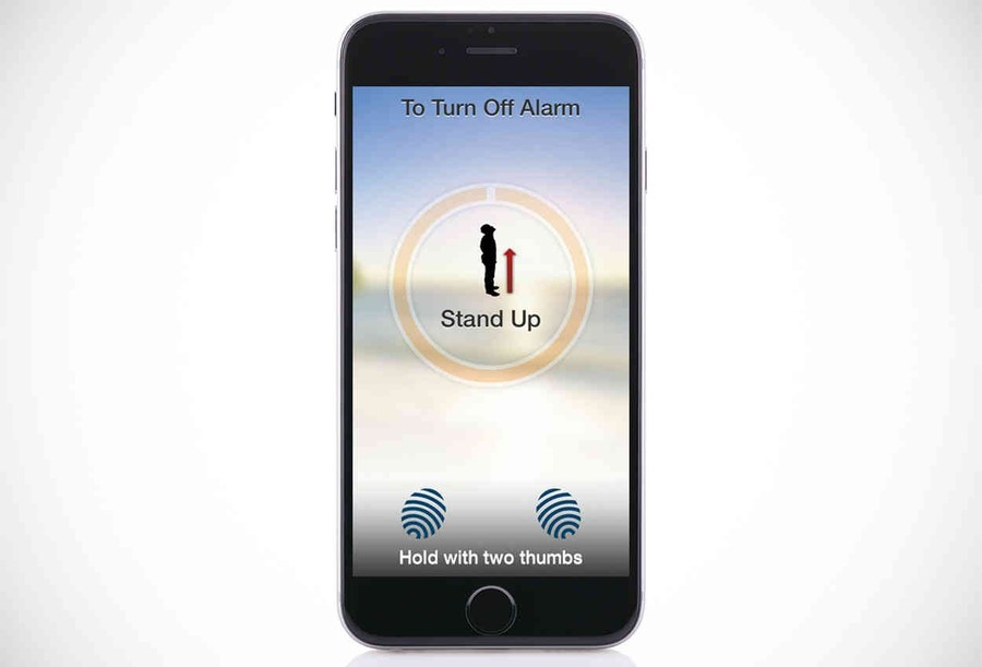 2. Будильник, заставляющий делать зарядку Если установить это приложение на смартфон, то блаженной д