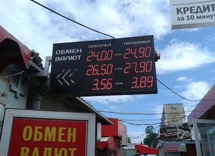 Курс намежбанке укрепился до24,81 грн