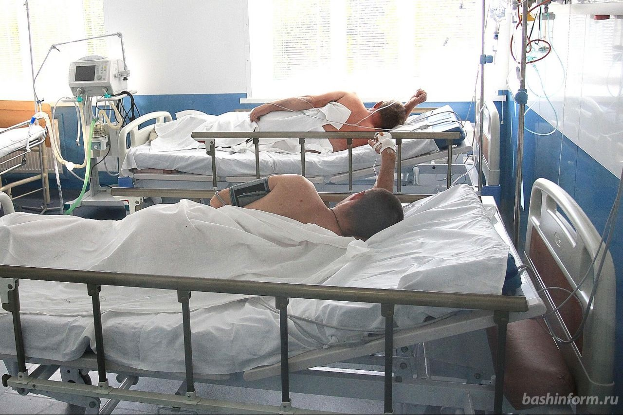 ВУфе 10 человек отправлены вмедучереждение сострой кишечной инфекцией после посещения ресторана