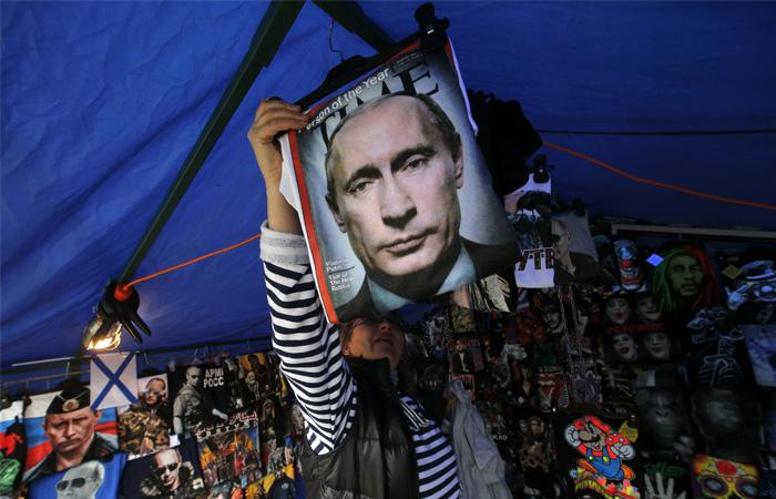 Рейтинг согласия деятельности В. Путина достиг максимума