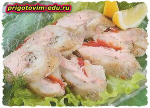 Заливная рыба ассорти