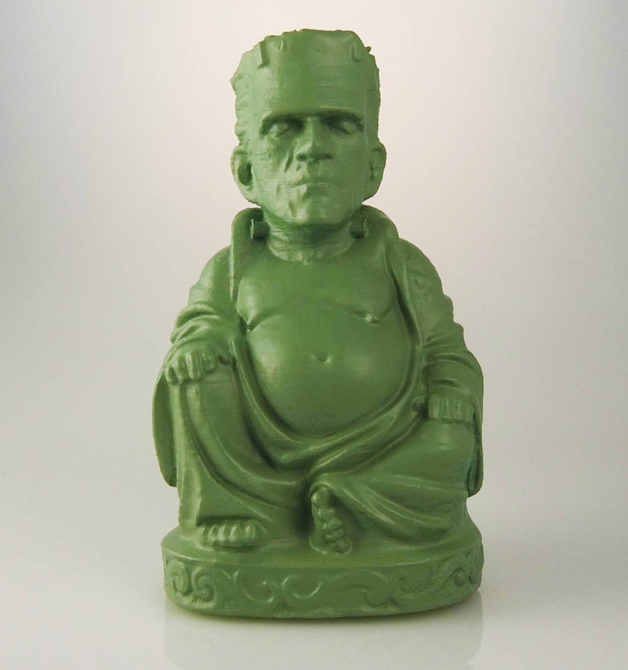 3D Printed Buddha Sculptures of Pop Cultures Icons
