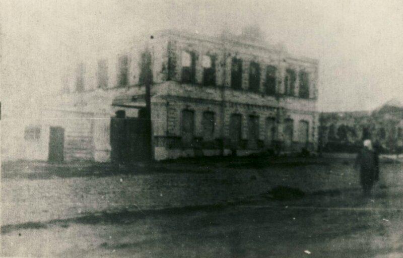 Дом Поветкина, 1940. Из архива А.Ткаченко