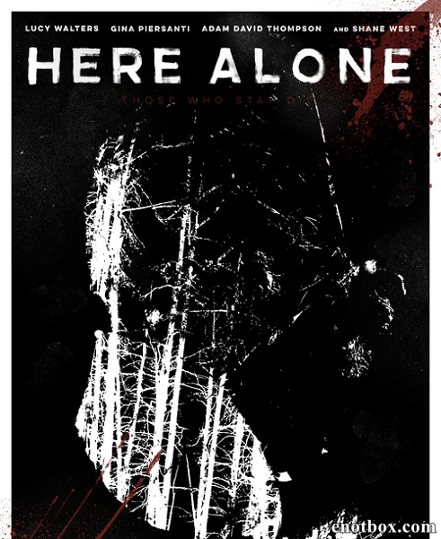 Тут одна / Here Alone (2016/WEB-DL/WEB-DLRip)