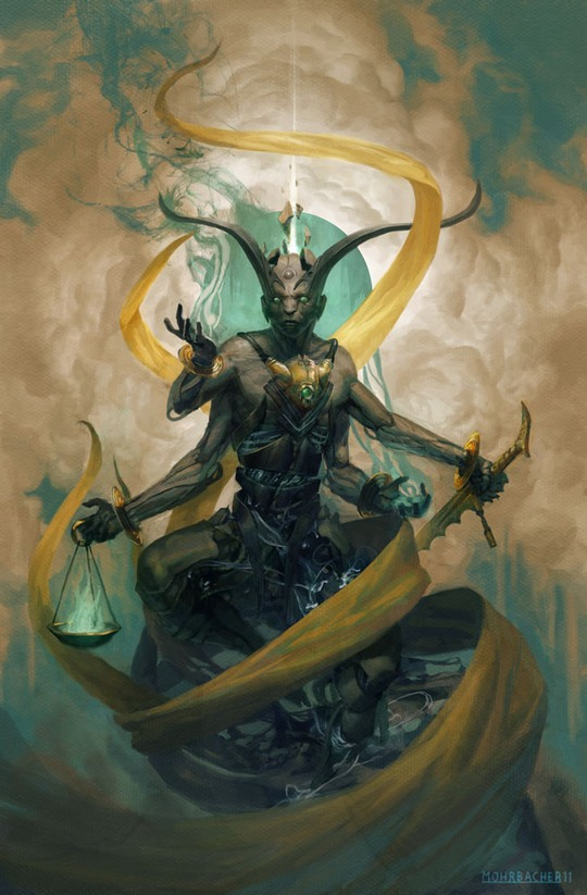 Cool Concept Art by Peter Mohrbacher