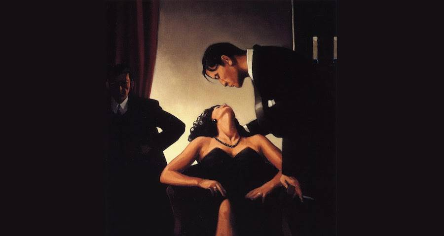 Women, Love & Desire Paintings by Jack Vettriano