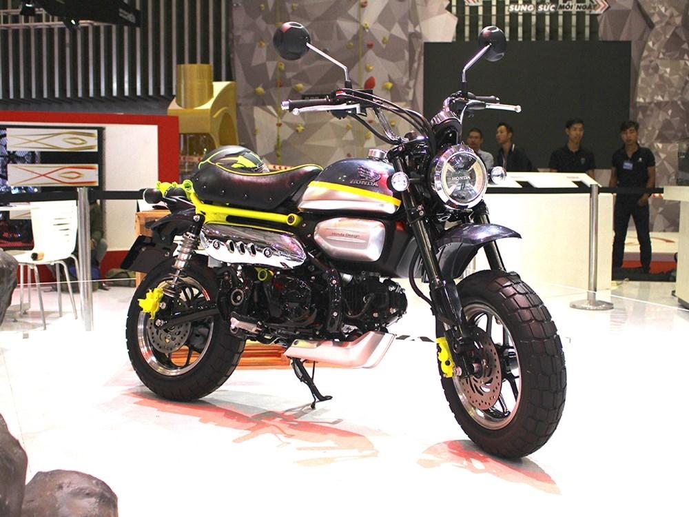 Прототип Honda Monkey 125 представили во Вьетнаме