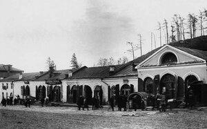 Златоуст. Улица Ленина. Торговые ряды. 1930-1933.